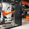 Nike Shop Store with logo