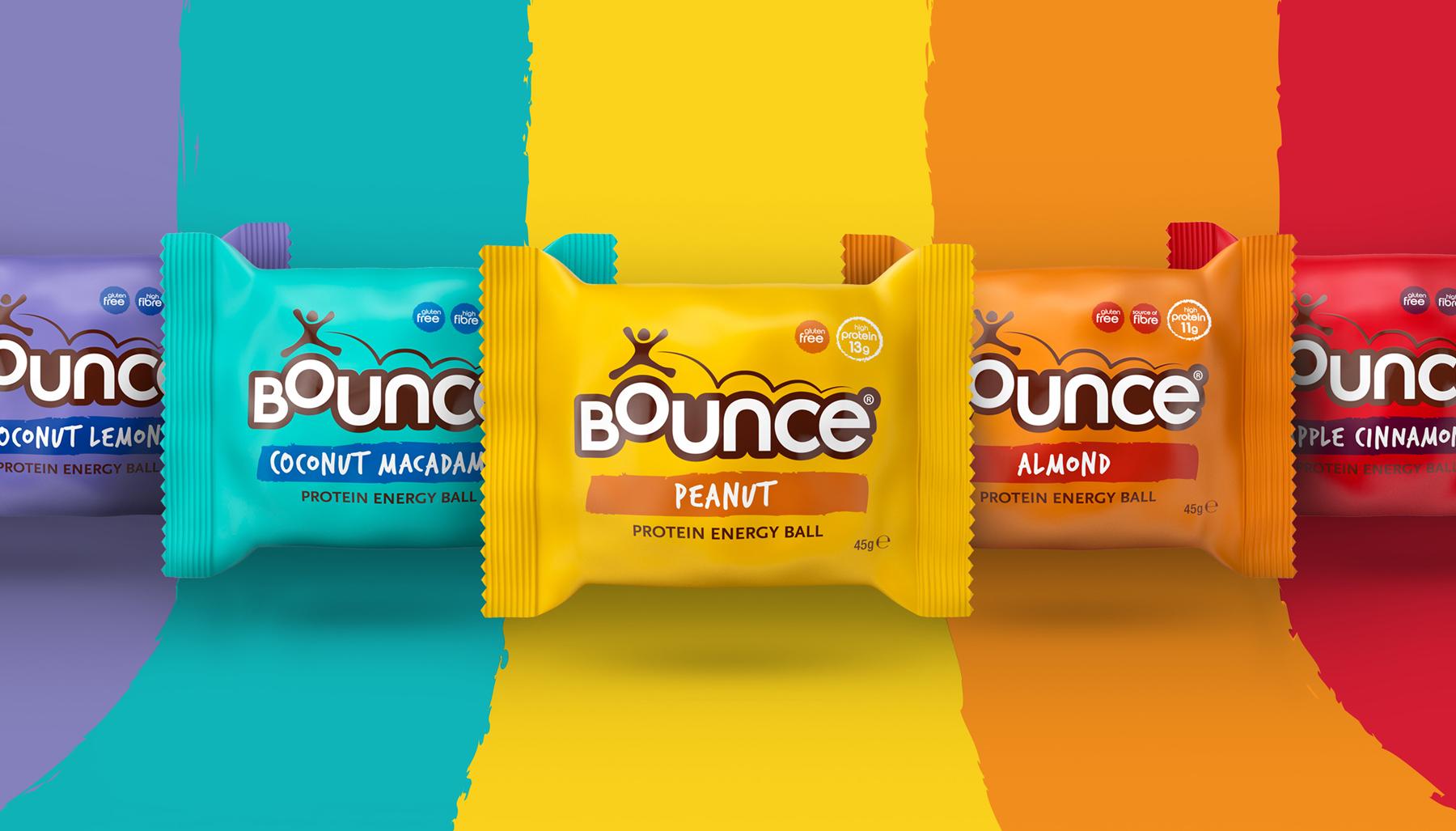 Award-winning packaging design for Bounce product range