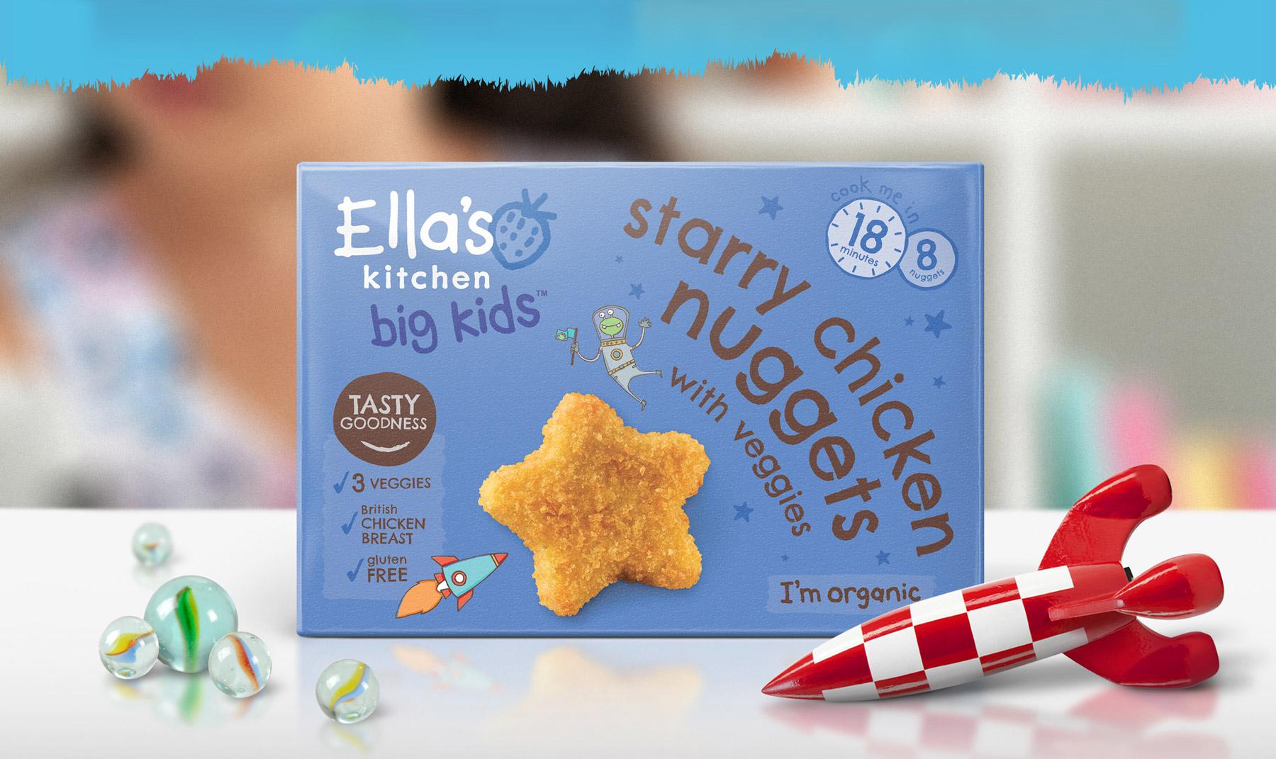 Ella's Kitchen Brand identity packaging design visuals