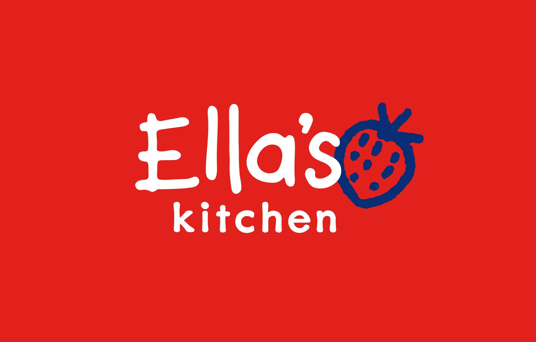 Ella's Kitchen logo design by Biles Hendry