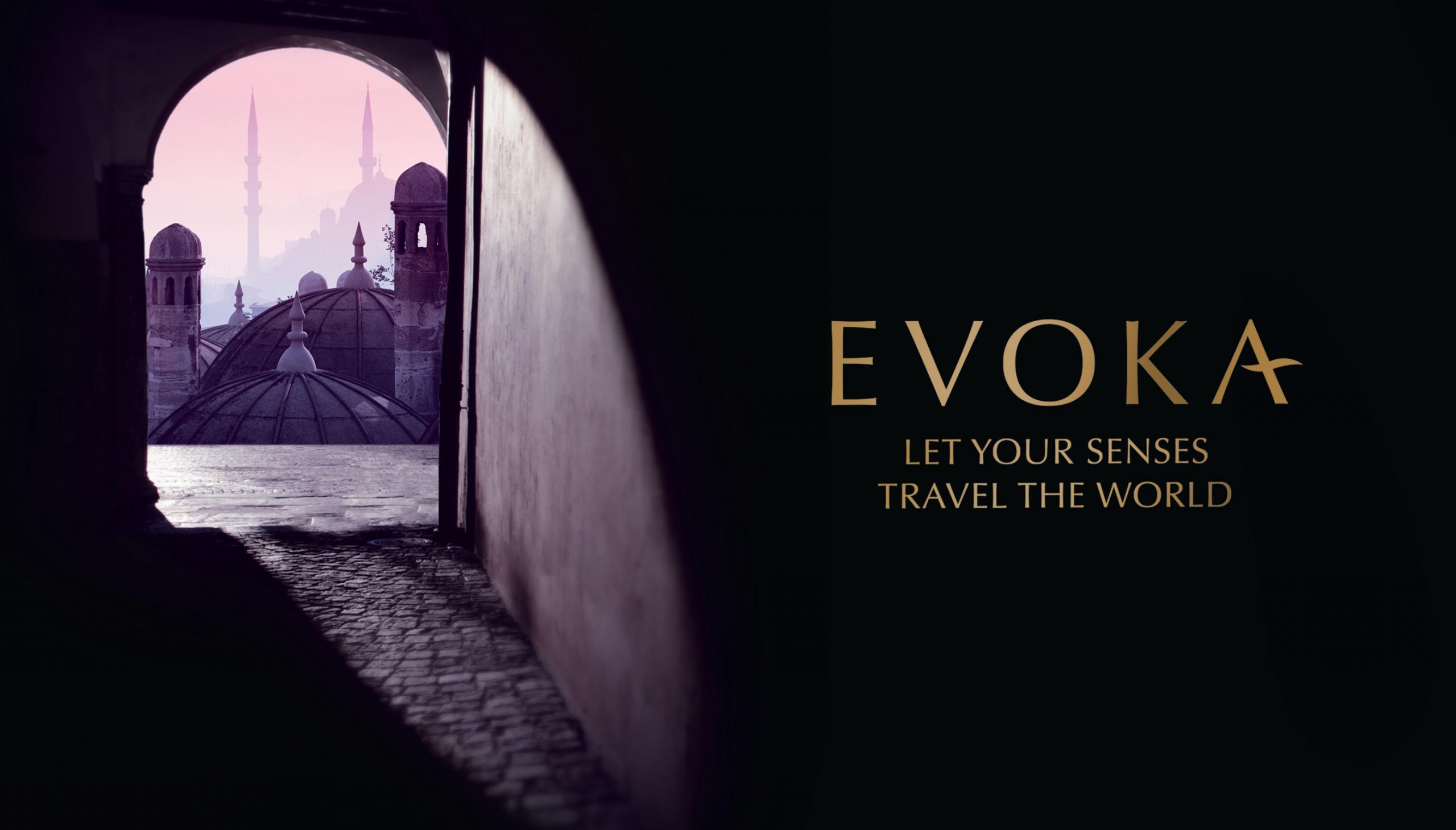 Evoka branded visual by Biles Hendry