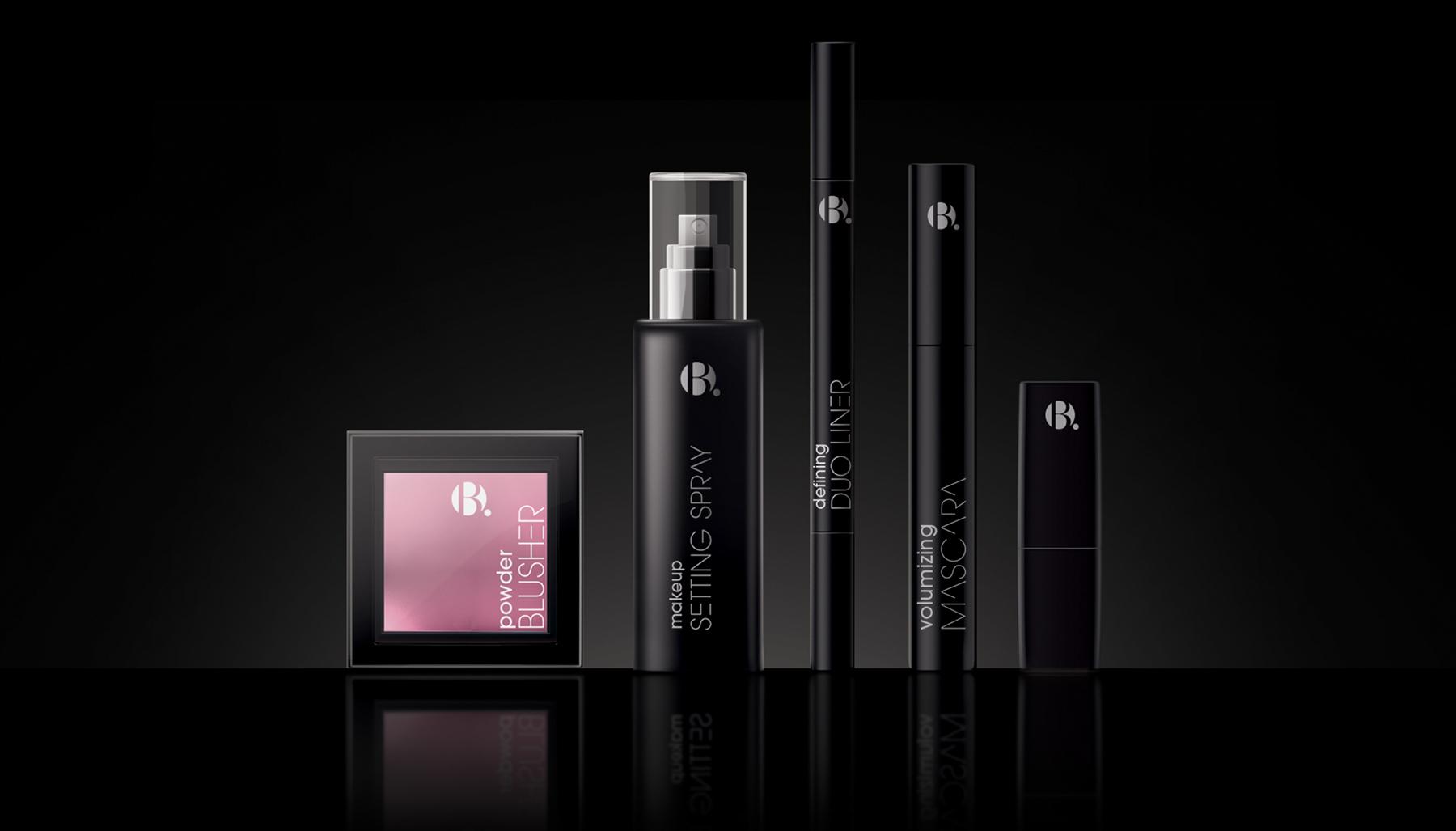 B. cosmetic product range branded by Biles Hendry