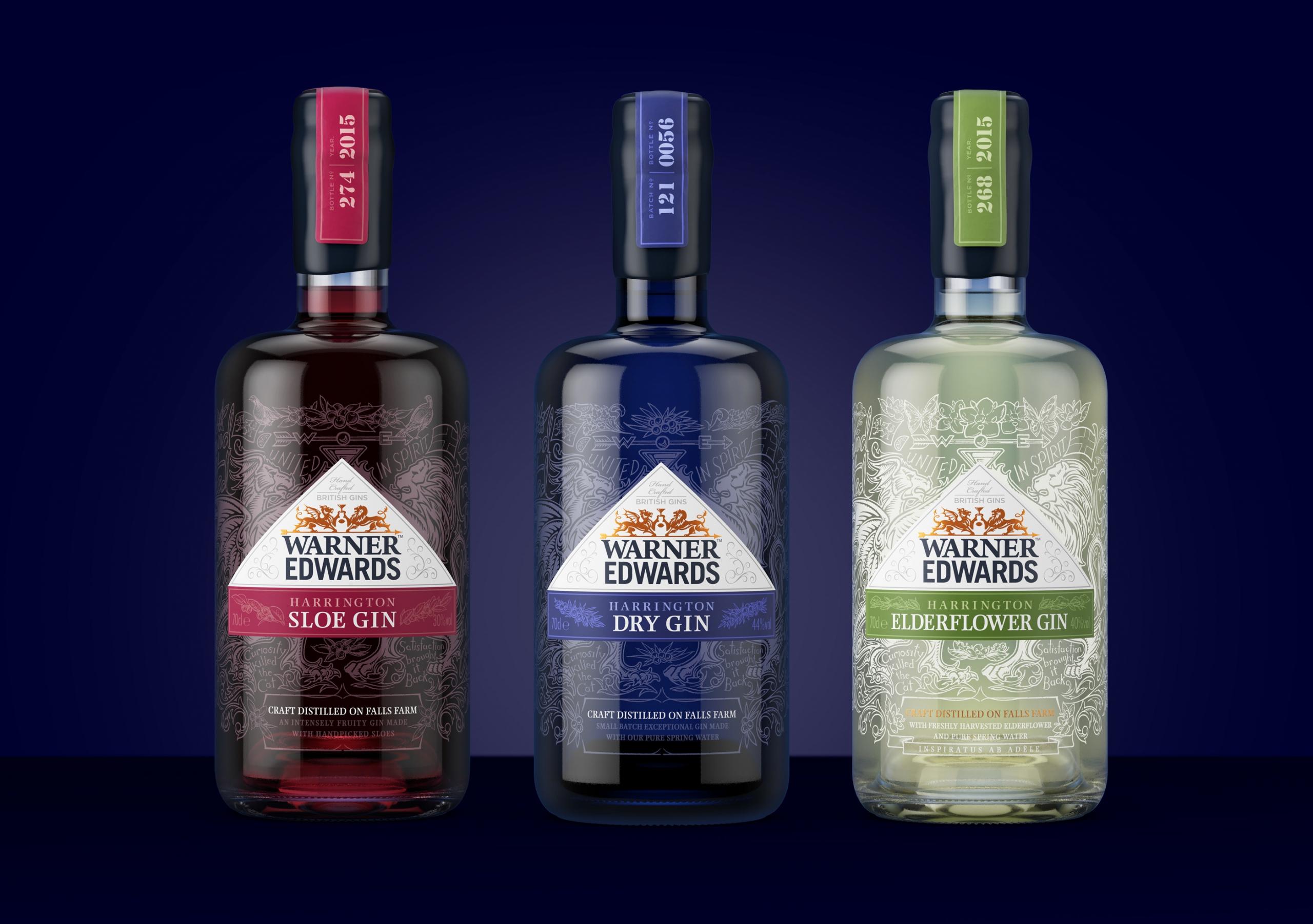 Award winning alcohol bottle design by Biles Hendry